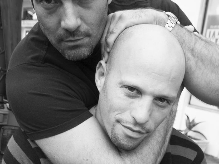 Carlos Del Olmo and Ami James